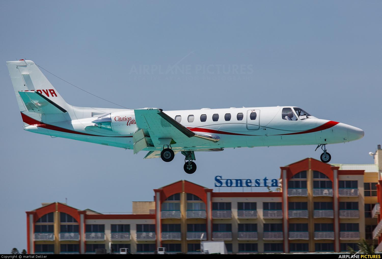 Private N282VR aircraft at Sint Maarten - Princess Juliana Intl