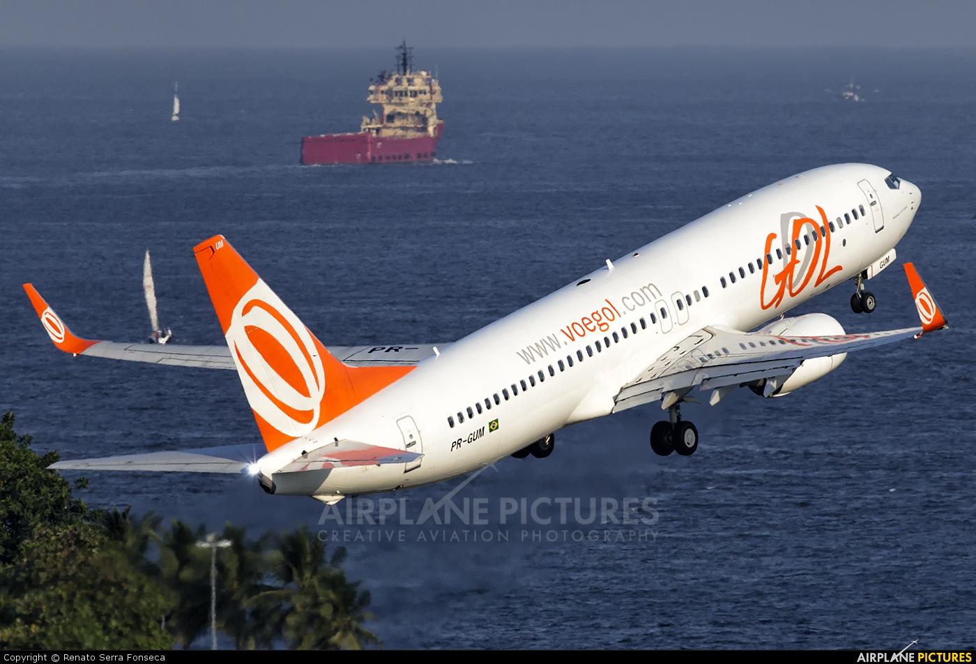GOL Transportes Aéreos  PR-GUM aircraft at Rio de Janeiro - Santos Dumont