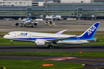 N787EX - ANA - All Nippon Airways Boeing 787-8 Dreamliner