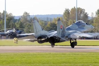 3911 - Slovakia -  Air Force Mikoyan-Gurevich MiG-29AS