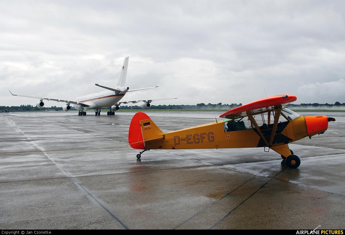 Sportfluggruppe Nordholz/Cuxhaven D-EGFG aircraft at Berlin - Tegel