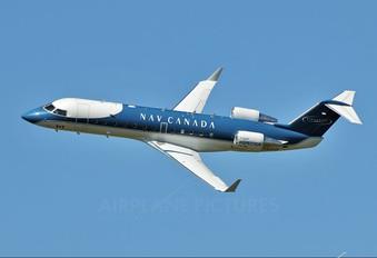 C-GFIO - Nav Canada Canadair CL-600 Challenger 850