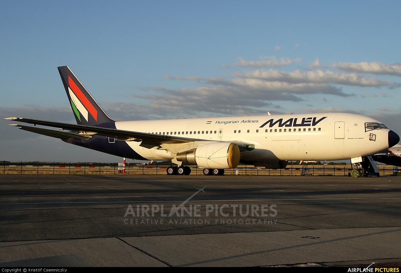 Malev HA-LHB aircraft at Budapest - Ferihegy