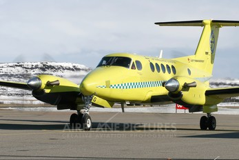 LN-LTG - Lufttransport Beechcraft 200 King Air