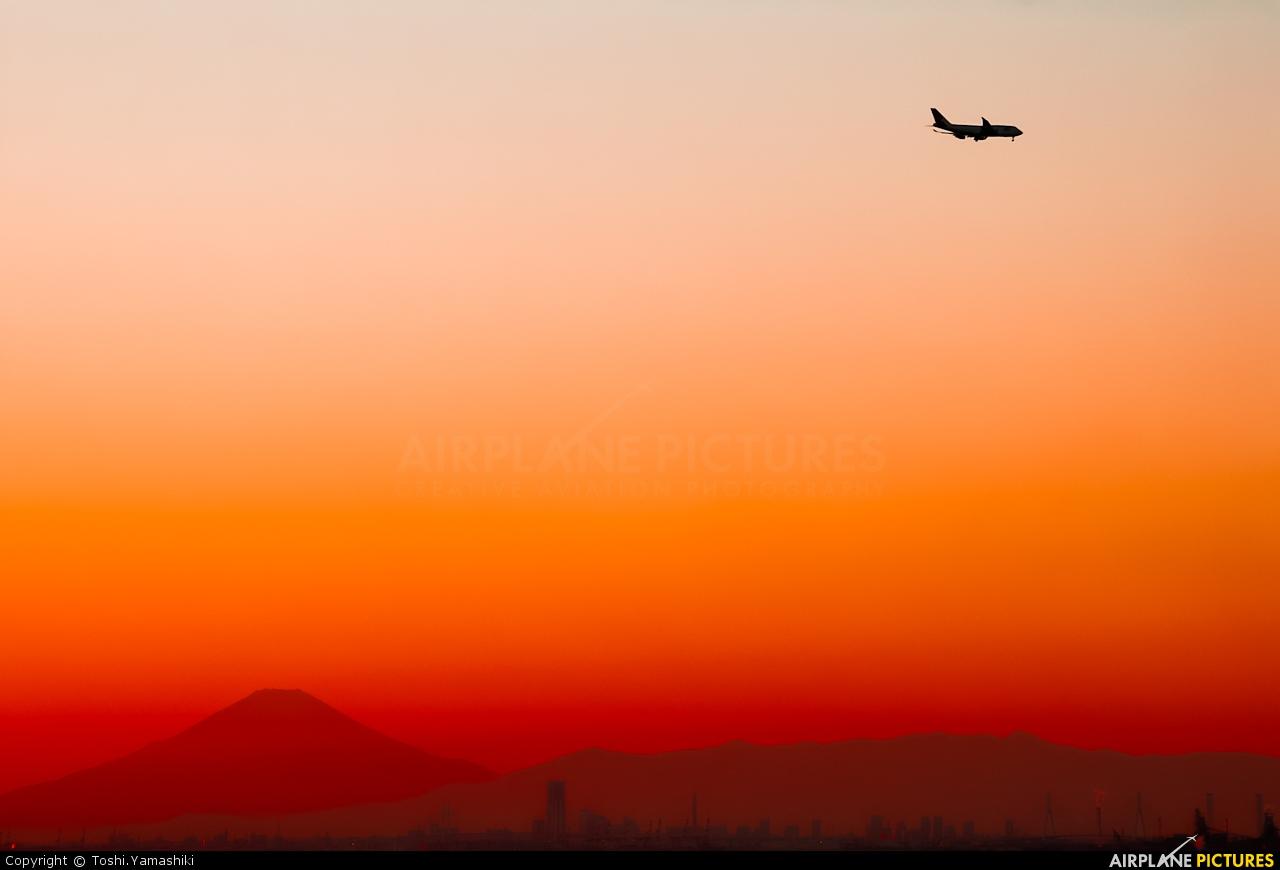 JAL - Japan Airlines - aircraft at In Flight - Japan