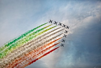 """MM54479 - Italy - Air Force """"Frecce Tricolori"""" Aermacchi MB-339-A/PAN"""