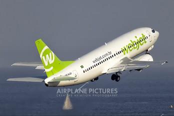 PR-WJU - WebJet Linhas Aéreas Boeing 737-300