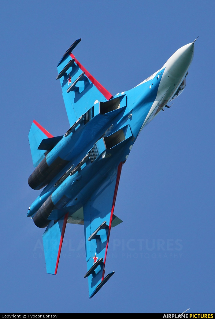 "Russia - Air Force ""Russian Knights"" 10 aircraft at Gelendzhik"