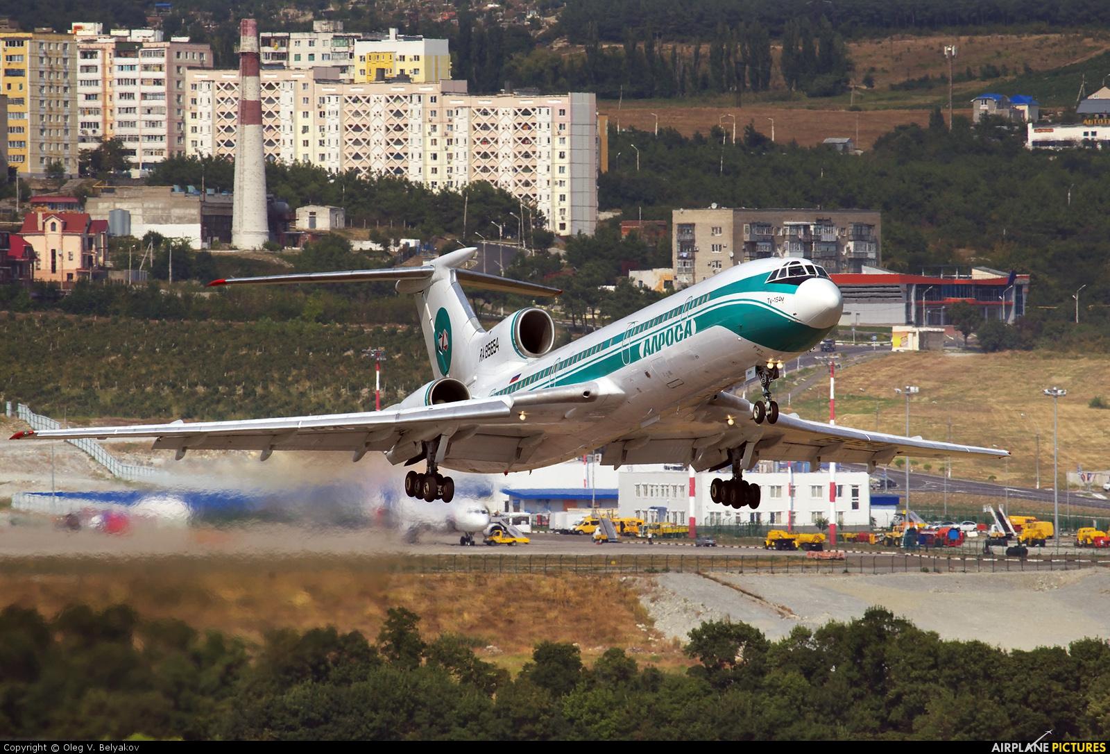 Alrosa RA-85654 aircraft at Gelendzhik