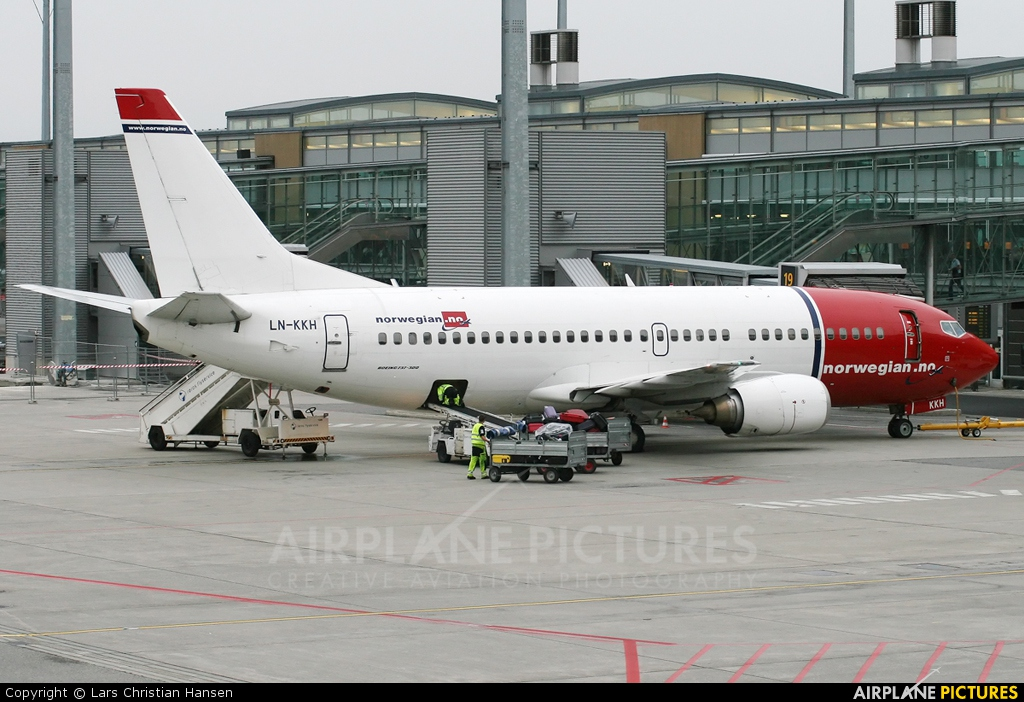 Norwegian Air Shuttle LN-KKH aircraft at Oslo - Gardermoen