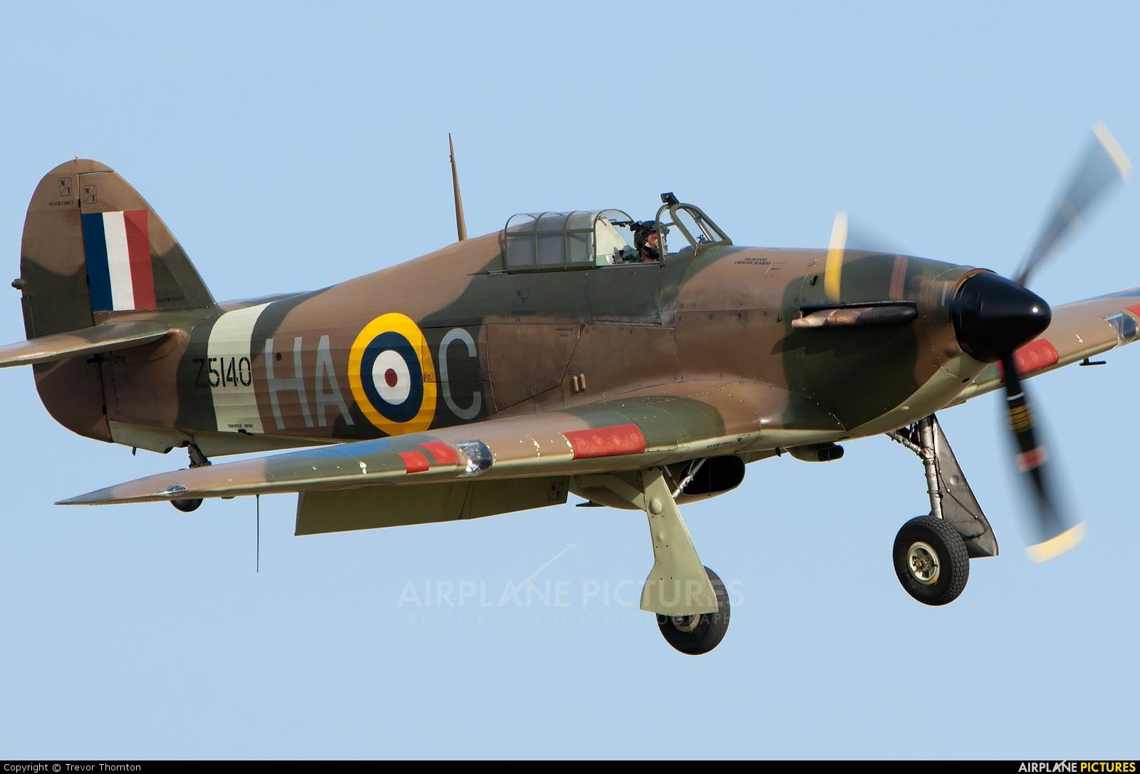Historic Aircraft Collection G-HURI aircraft at Duxford