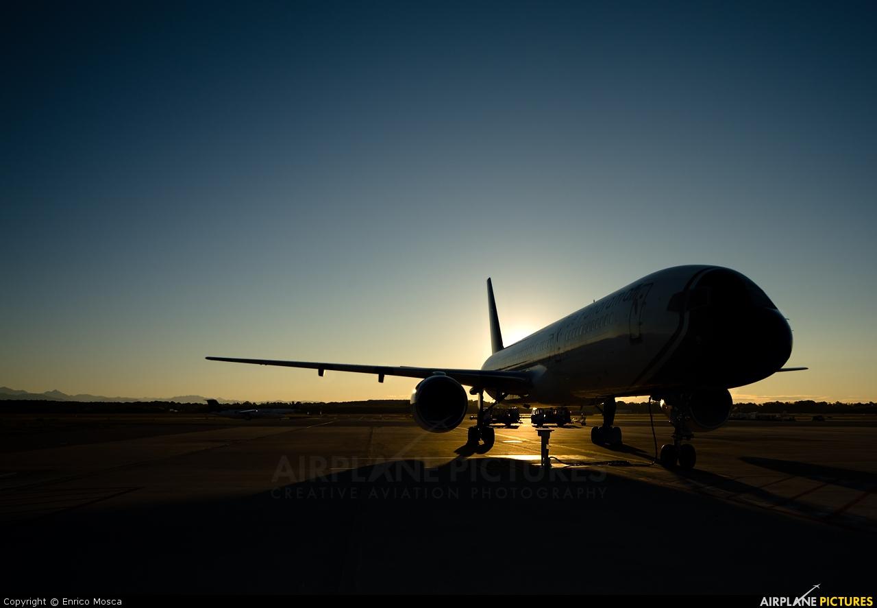 Blue Panorama Airlines EI-DNA aircraft at Milan - Malpensa
