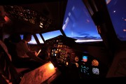PH-KXM - Denim Air Fokker 50 aircraft