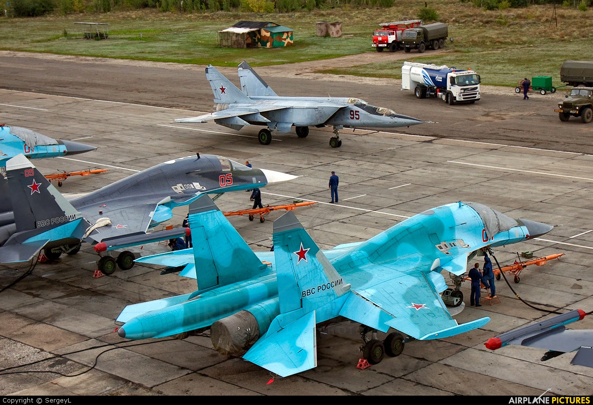 Russia - Air Force 07 aircraft at Undisclosed Location