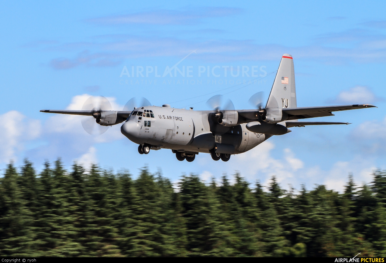 USA - Air Force 74-1666 aircraft at Yokota AB