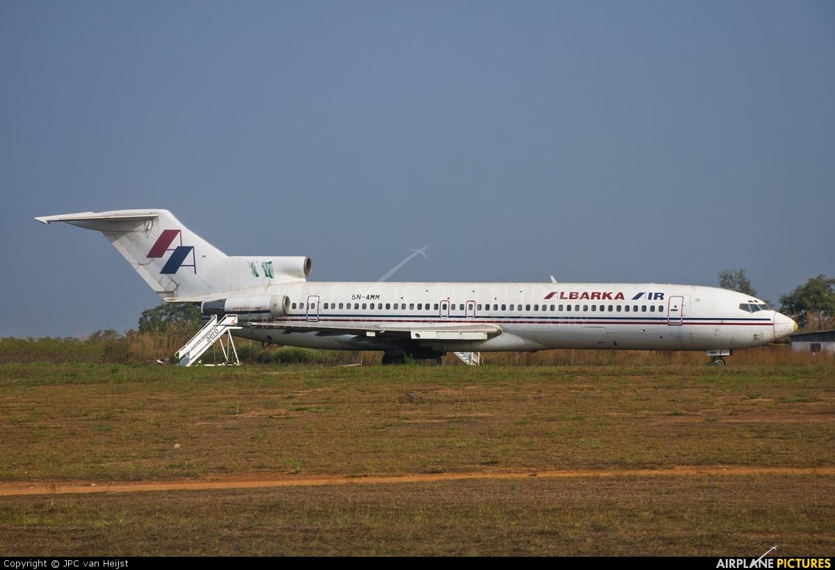 Albarka Air 5N-AMM aircraft at Abuja - Nnamdi Azikiwe Intl