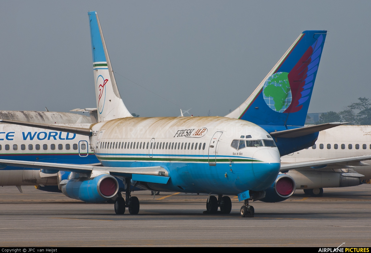 Fresh Air 5N-BGU aircraft at Lagos - Murtala Muhammed