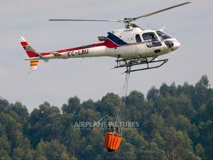 EC-LBU - INAER Aerospatiale AS350 Ecureuil / Squirrel