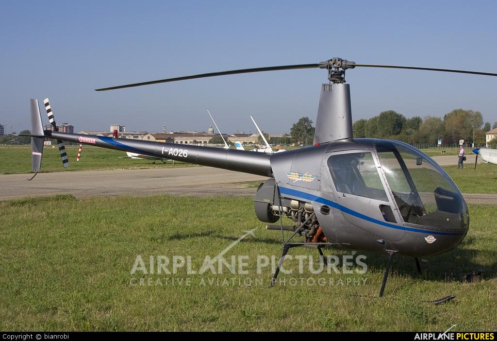Private I-A026 aircraft at Reggio Emilia