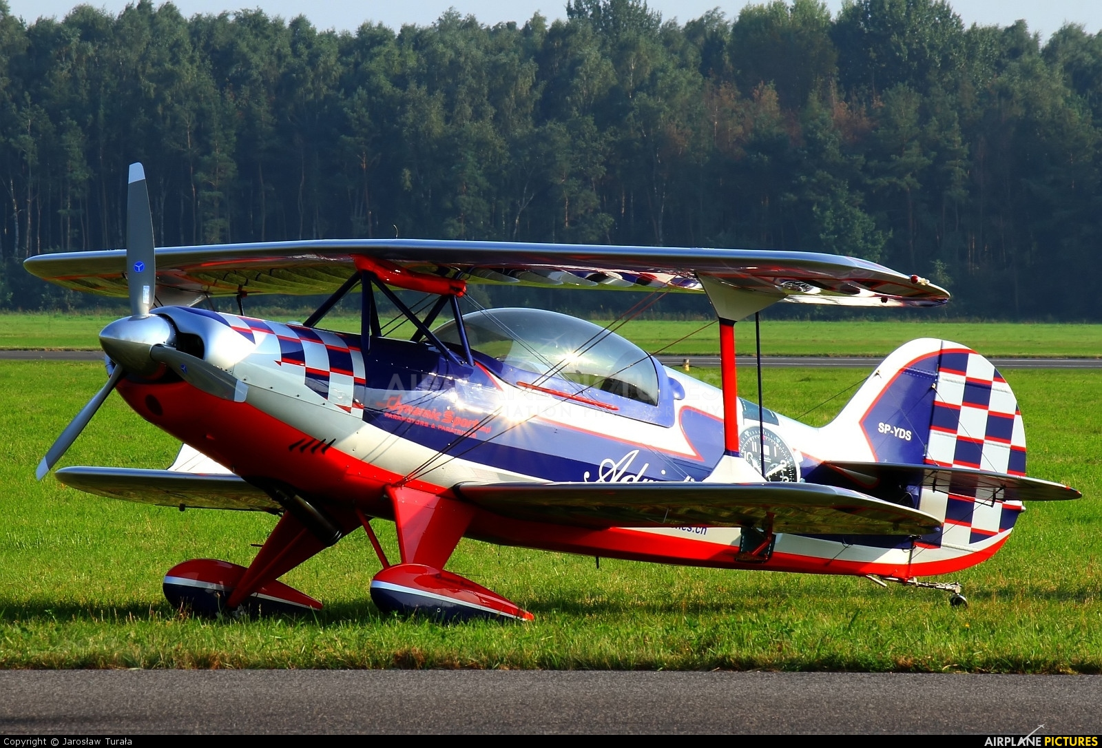 Private SP-YDS aircraft at Radom - Sadkow