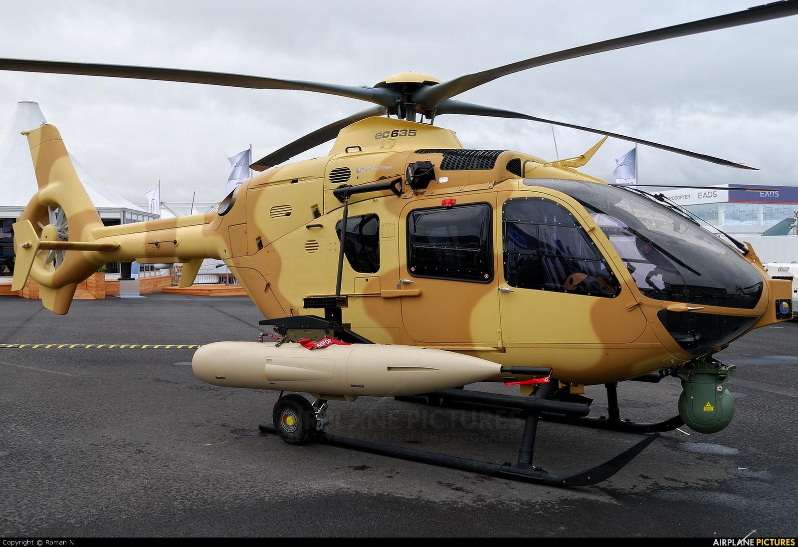 Eurocopter - aircraft at Berlin - Schönefeld