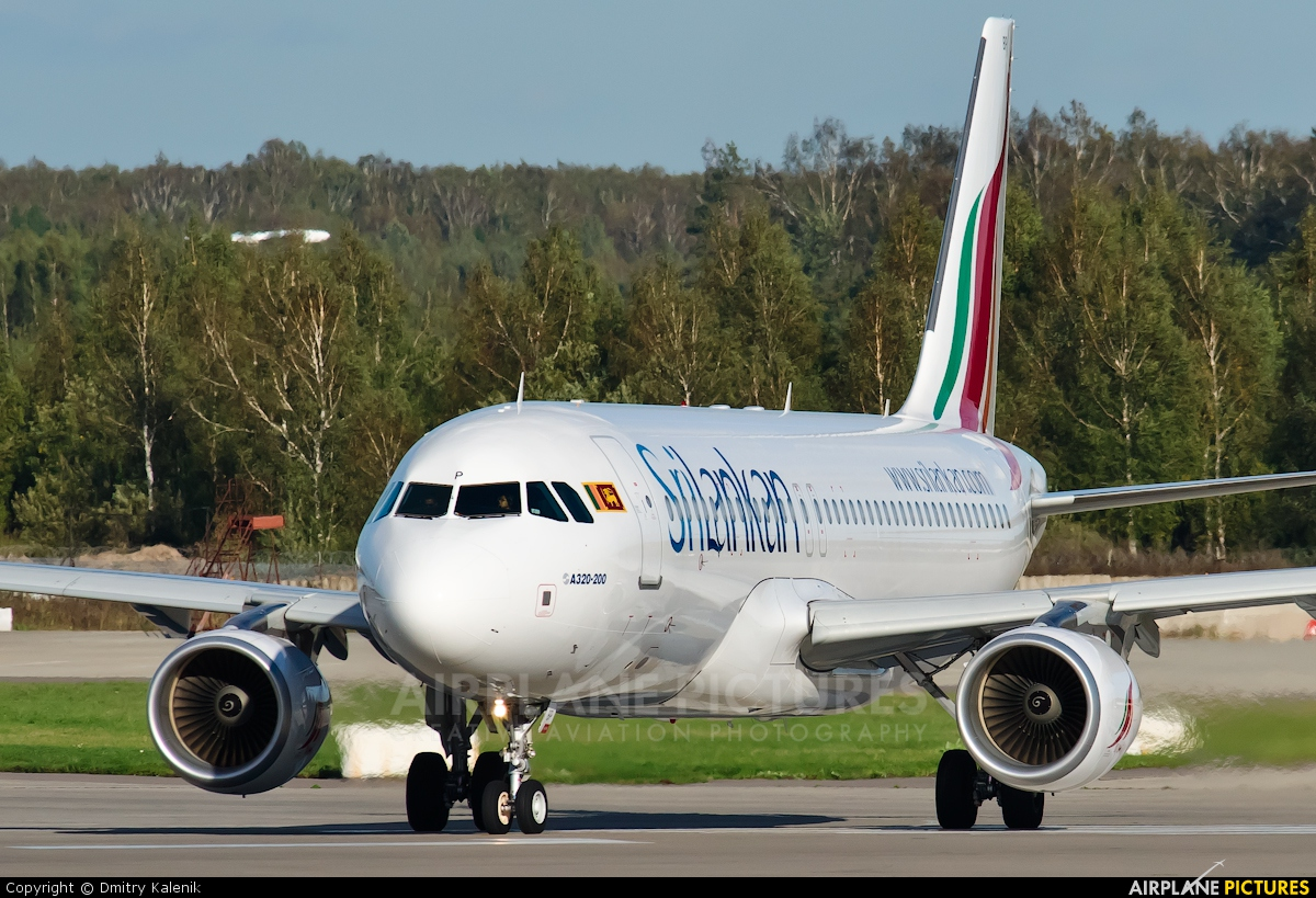 SriLankan Airlines 4R-ABP aircraft at Moscow - Domodedovo