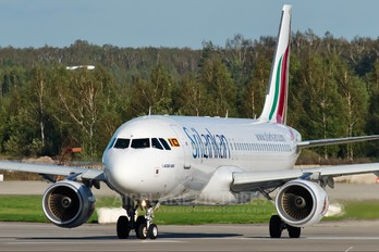 4R-ABP - SriLankan Airlines Airbus A320