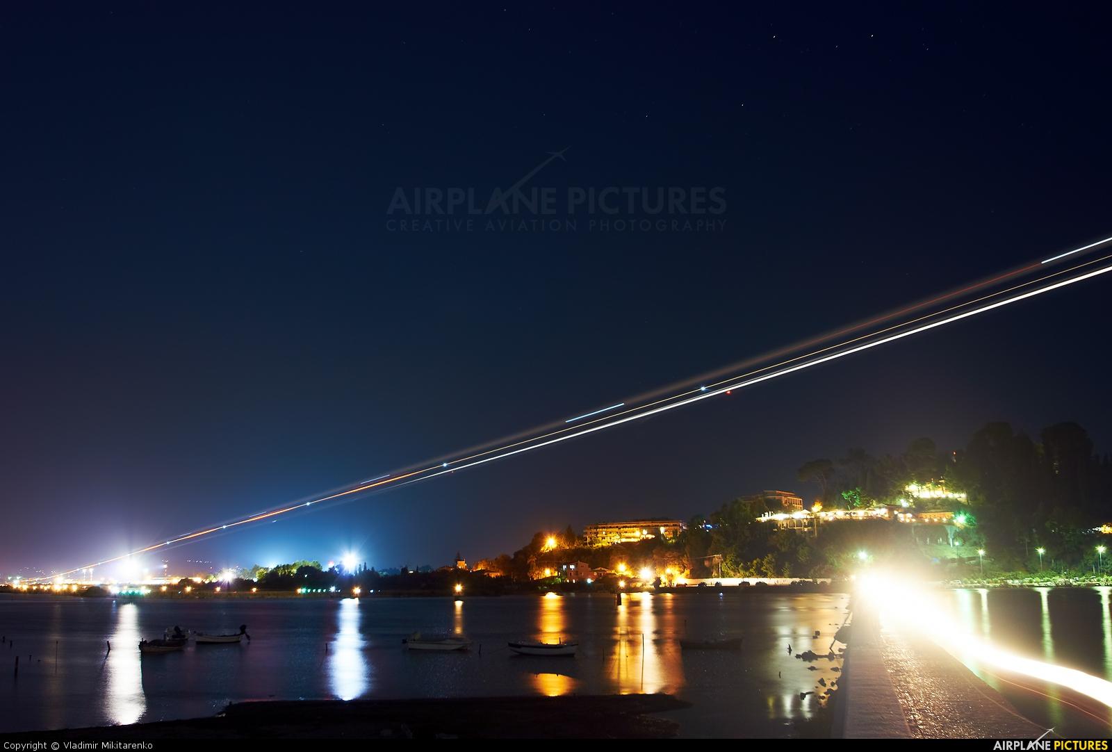 Travel Service - aircraft at Corfu - Ioannis Kapodistrias