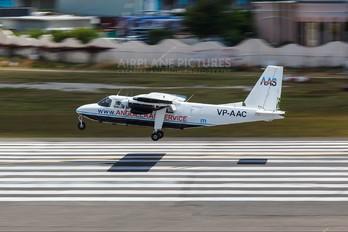 VP-AAC - Anguilla Air Services Britten-Norman BN-2 Islander