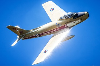 C-GSBR - Vintage Wings of Canada Canadair CL-13 Sabre (all marks)