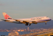N168CL - China Airlines Boeing 747-400 aircraft
