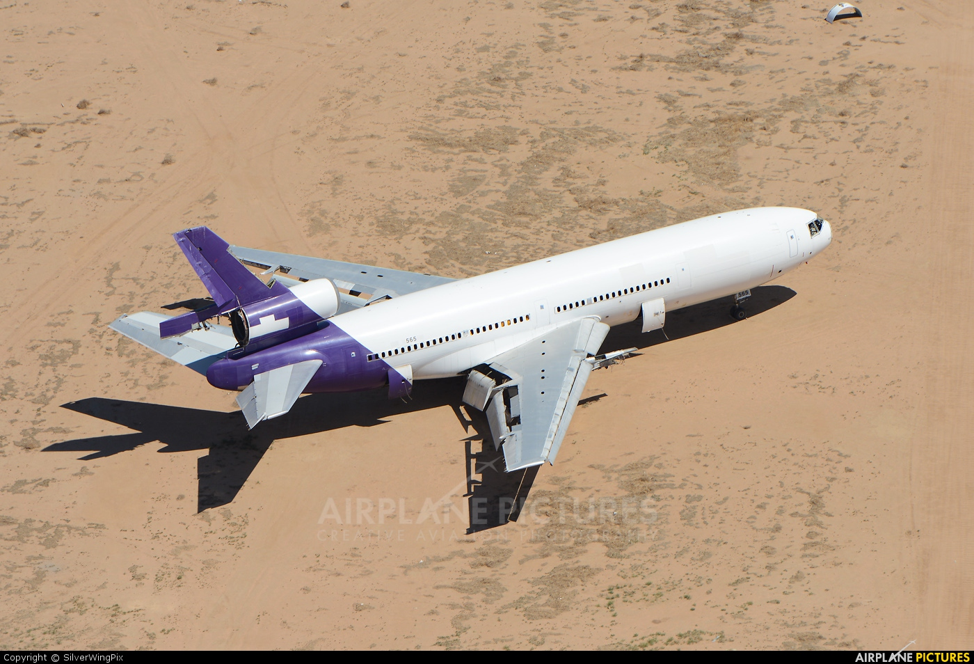 FedEx Federal Express N565FE aircraft at Victorville - Southern California Logistics