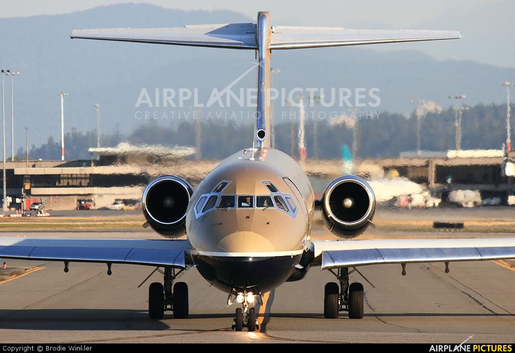 Private VP-CNI aircraft at Vancouver Intl, BC
