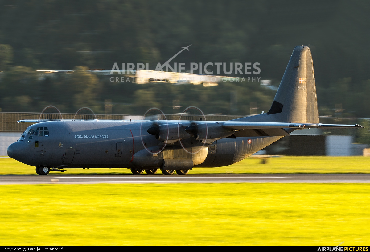 Denmark - Air Force B-537 aircraft at Innsbruck