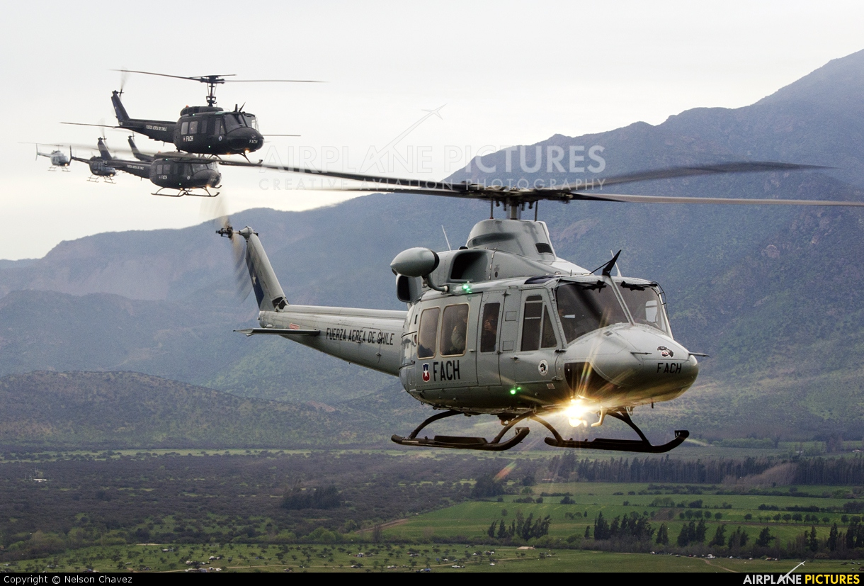 Chile - Air Force H-54 aircraft at In Flight - Chile