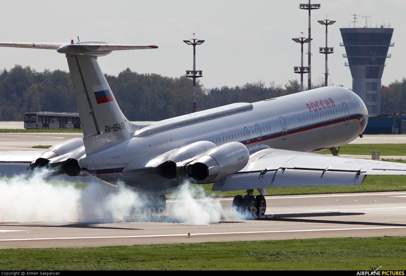 Rossiya Ilyushin Il-62 (all models) RA-86468