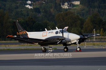 G-JOTA - Jota Aviation Beechcraft 90 King Air Cargoliner