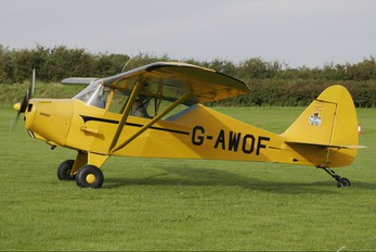 G-AWOF - Private Piper PA-15 Vagabond