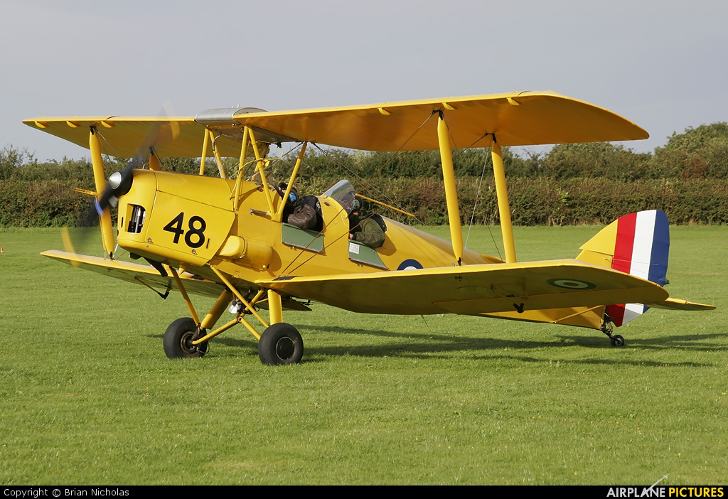 Private G-BPHR aircraft at Northampton / Sywell