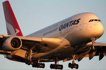 VH-OQI - QANTAS Airbus A380