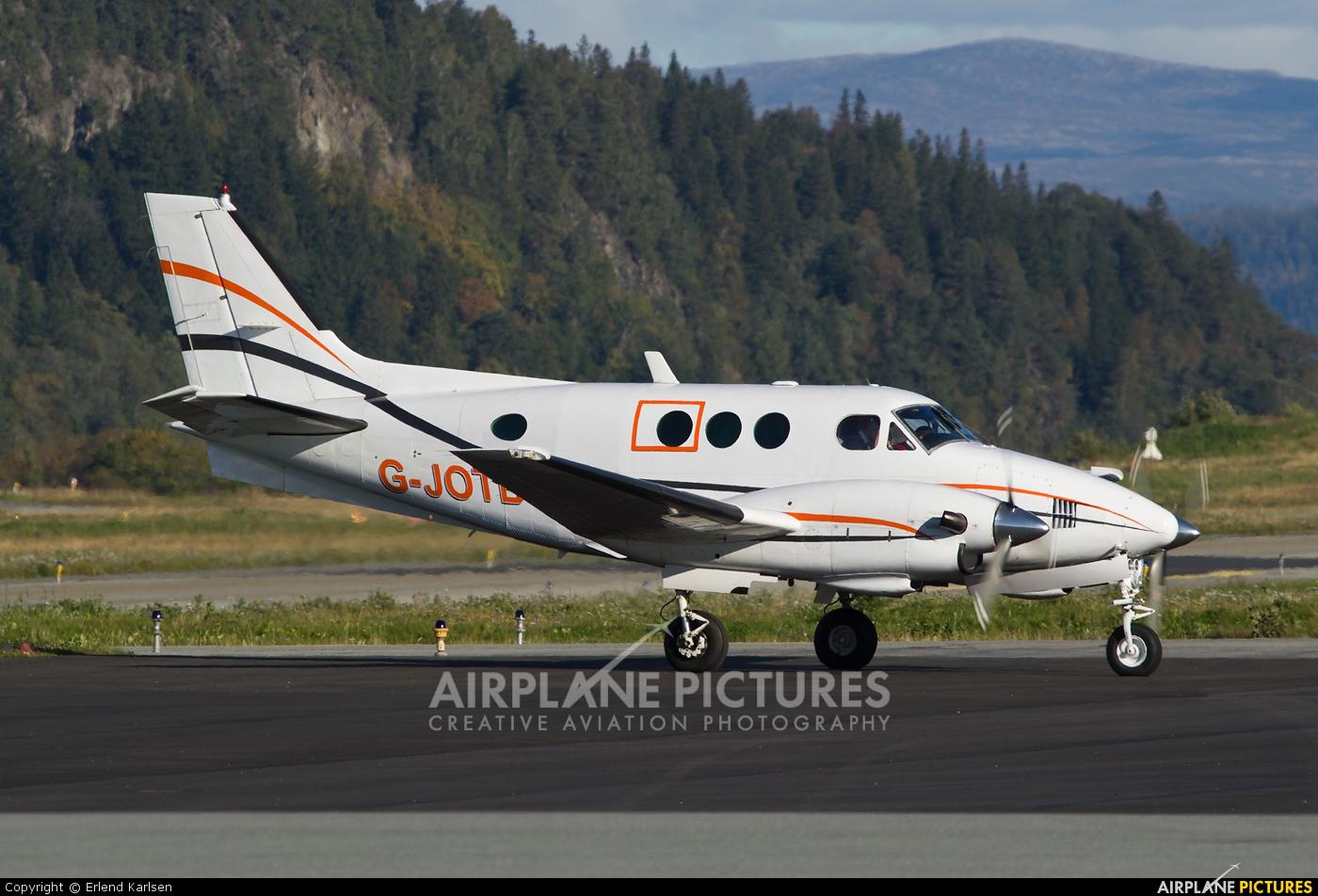 Jota Aviation G-JOTB aircraft at Trondheim - Vaernes