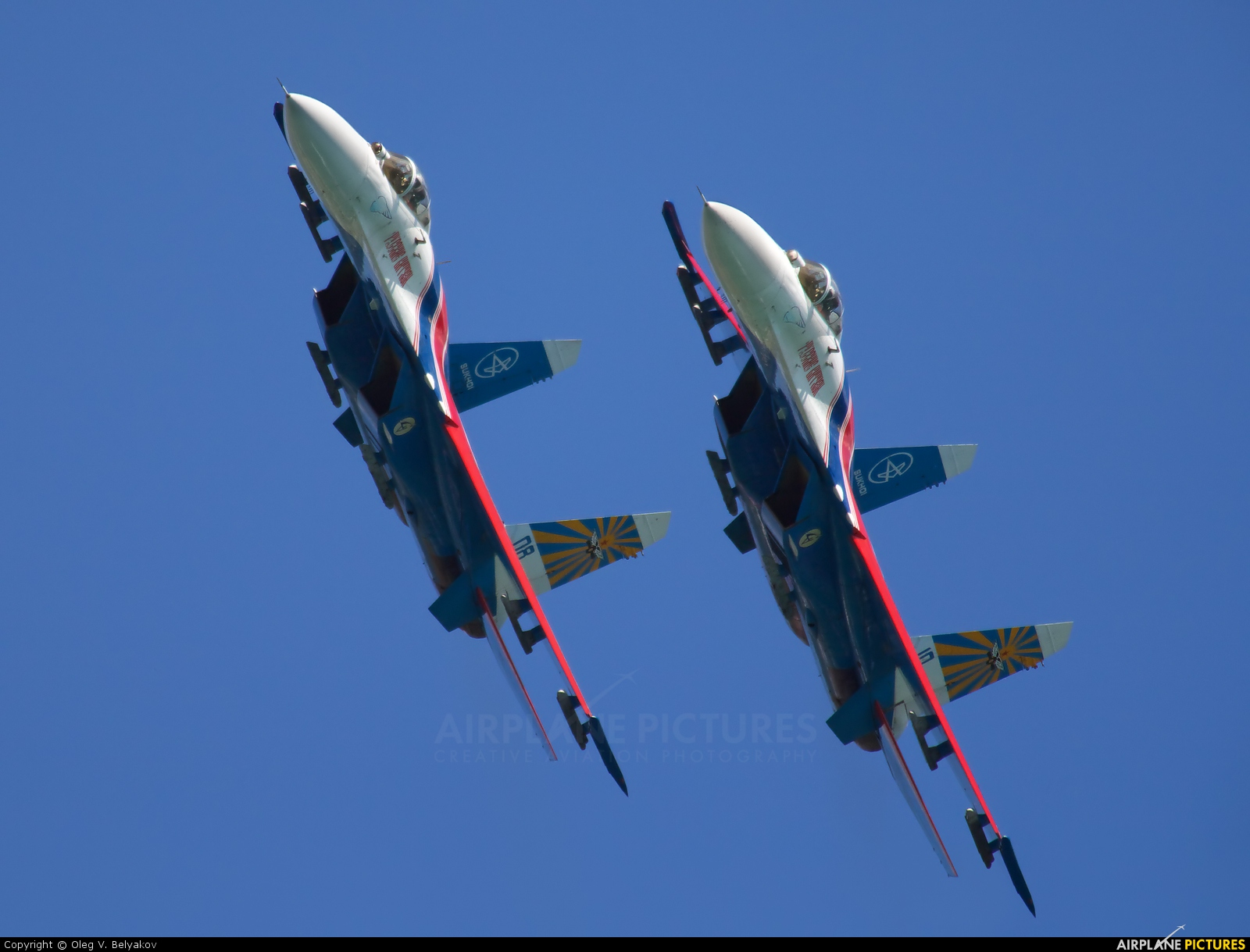 "Russia - Air Force ""Russian Knights"" 08 aircraft at Gelendzhik"