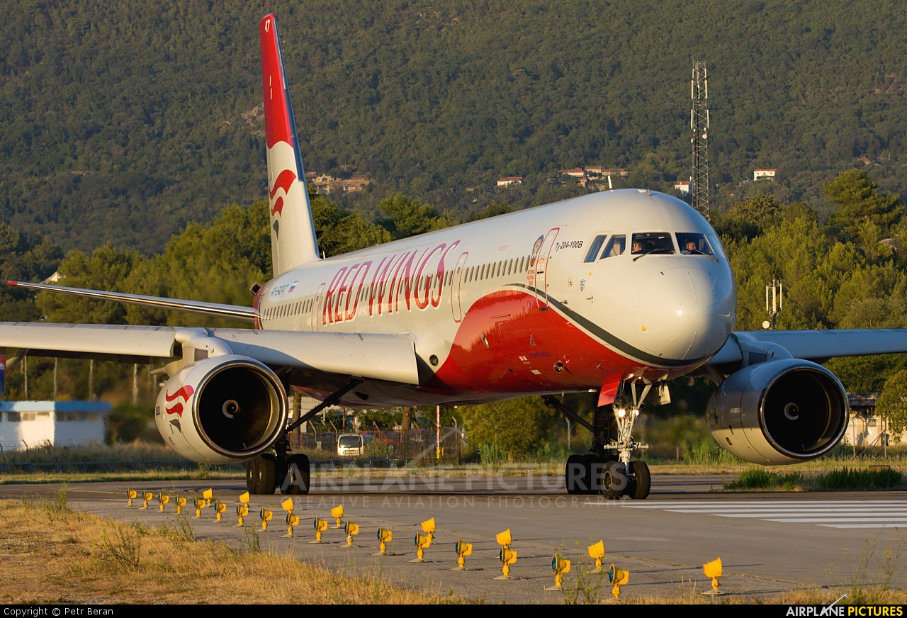 Red Wings RA-64047 aircraft at Tivat