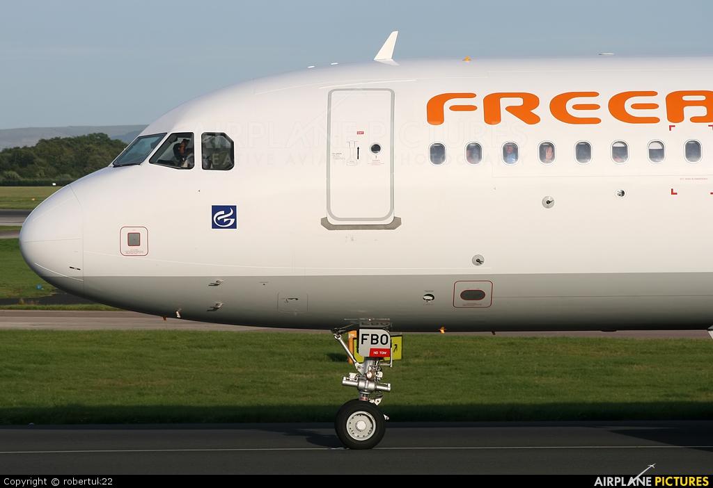 FreeBird Airlines TC-FBO aircraft at Manchester