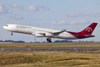 F-GLZL - Air Madagascar Airbus A340-300