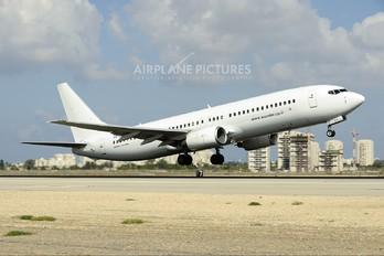 4X-EKM - Sun d'Or International Airlines Boeing 737-800