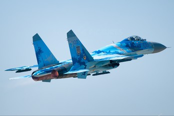 100 - Ukraine - Air Force Sukhoi Su-27