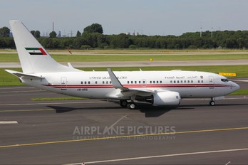 A6-HRS - United Arab Emirates - Government Boeing 737-700 BBJ