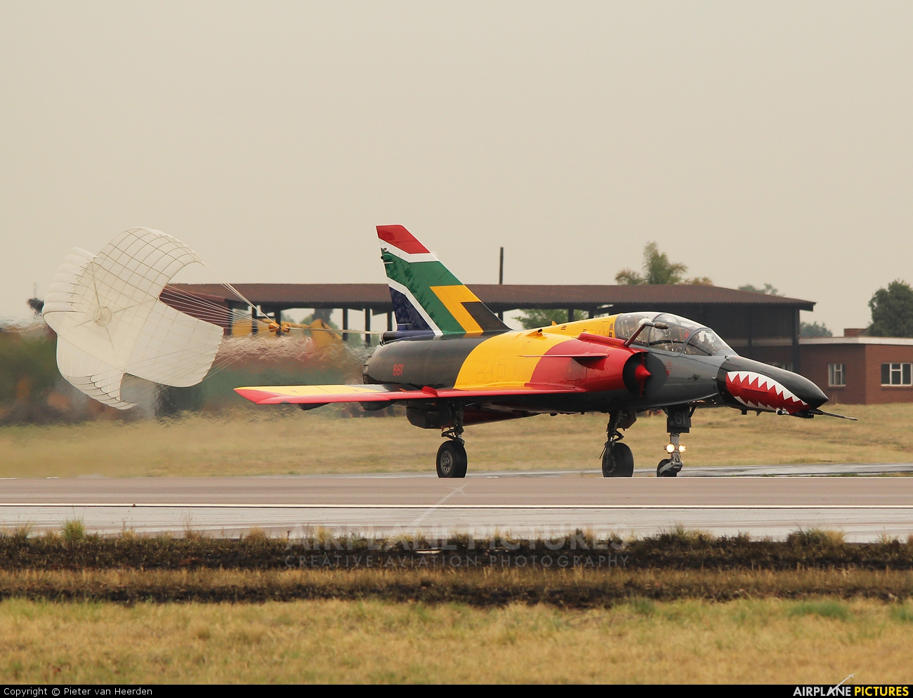 South Africa - Air Force 861 aircraft at Waterkloof