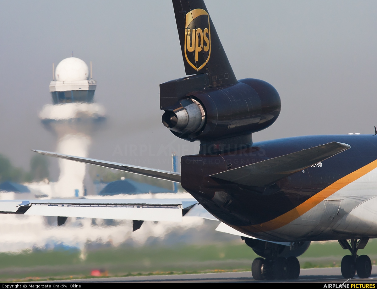 UPS - United Parcel Service N291UP aircraft at Warsaw - Frederic Chopin